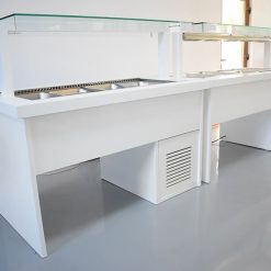 vitrina profesionala mic dejun bain marie