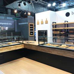 vitrine prezentare patiserie cofetarie brutarie